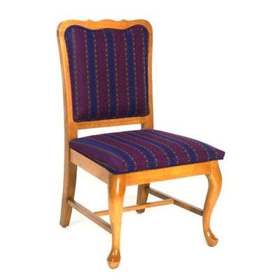 Queen Anne Curved Top Side Chair