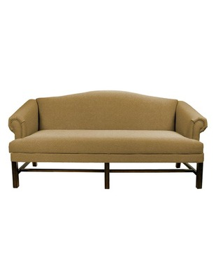 Dover Chippendale Camelback Sofa