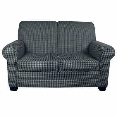 Scroll Back Settee with Removable Seat