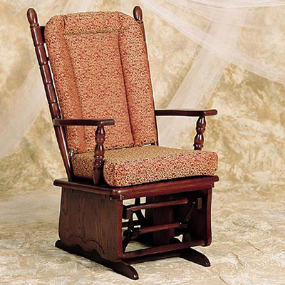 Glider Rocker with Removable Cushions
