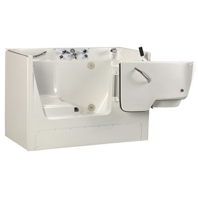 Invacare Model IH3752G Recessed Side Entry Bathing Tub Assisted & Independant Living Design