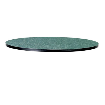 "Table Top Round 42"" Vinyl T-Mold Edge"