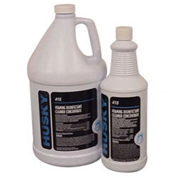 Husky Foaming Disinfectant Cleaner Concentrate, For all Invacare Tubs Case 4/One Gallon